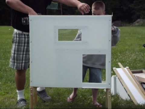 How to assemble / build our Medium Chicken Coop / a Hen House Building Assembly
