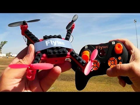 Flytec T11 DIY Building Block Drone Flight Test Review