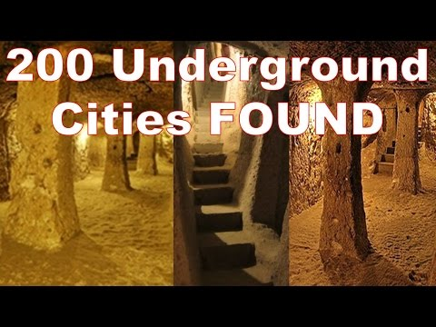 Ancient Underground Cities - What Happened to Ancient Human Civilization? Lost High Technology