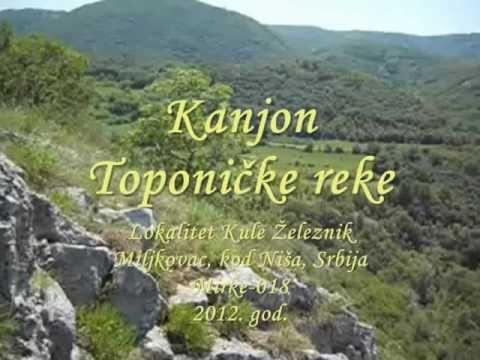 Video: KANJON TOPONIČKE REKE 2 (kod Kule Železnik)