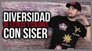 Estilos y colores con el vinil textil de Siser en una sola camiseta!