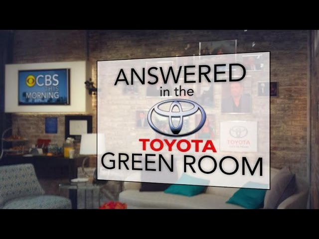 James Patterson in the Toyota Green Room