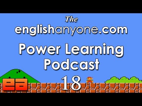 The Power Learning Podcast – 18 – The English Fluency Secrets of Video Game Speed Runners