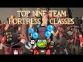 Top Nine Favorite Team Fortress 2 Classes