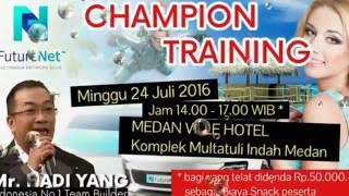 FutureNet Champion Training Medan Indonesia