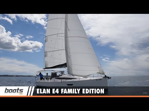 Elan E4 Family Edition: Video Boat Review