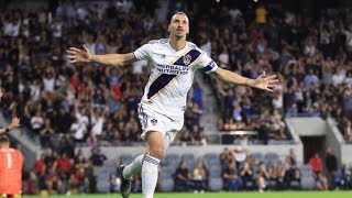 GOAL: Zlatan Ibrahimovic equalizes after an error from LAFC goalkeeper Tyler Miller