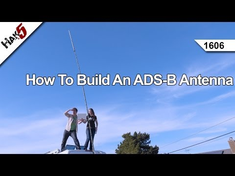 How To Build An ADS-B Antenna, Hak5 1606