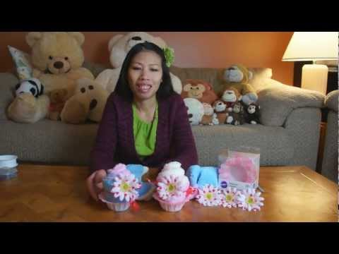 Fluffy Sock Cupcakes Gift Idea