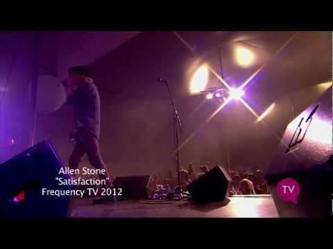 Allen Stone - Satisfaction live at Manifest 2012