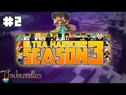 Minecraft: Ultra Hardcore Season 3 - Episode 2 -  Diamonds? And More Diamonds!