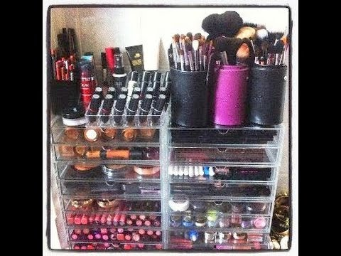 Makeup Collection Pictures my Makeup Collection Storage