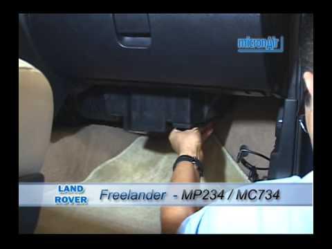 Land Rover Como Trocar O Filtro De Ar Condicionado Cabine