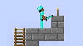 Майнкрафт - Minecraft обзор игры для детей про Бумажный Майнкрафт [2]