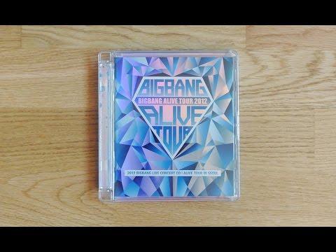[UNBOXING] Bigbang - 2012 Big Bang Live Concert CD [Alive Tour In Seoul]