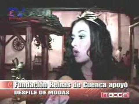 Fundación Reinas de Cuenca apoyó desfile de modas