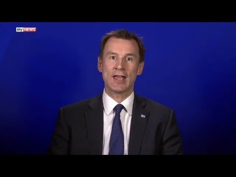 Doctors Responsible If Patients Die, Says Jeremy Hunt