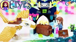 LEGO Elves Emily & the Eagle Getaway Build Review Silly Play Kids Toys