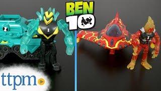 Ben 10 Diamondhead Power Tank and Heatblast Rocket Flyer from Playmates Toys