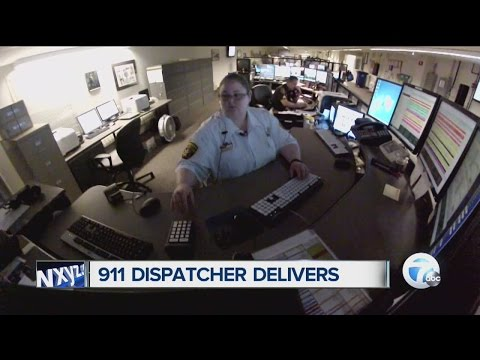 911 operator talks woman through delivery