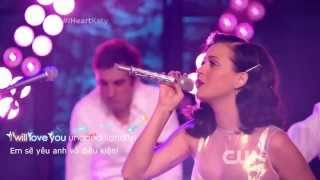[Vietsub] Katy Perry - Unconditionally (hát live tại iHeartRadio Prism Release Party)