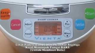 Vienta Smart Cooker Fungsi Bake