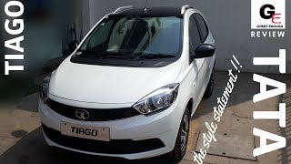 2018 Tata Tiago Wizz | White Black | detailed review | price | features | specifications !!!