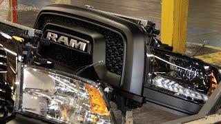 Производство Dodge Ram 1500 Rebel / Production Dodge Ram 1500 Rebel / 2015