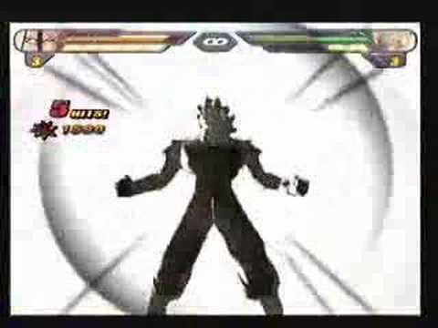 CU Dragon Ball Z Budokai Tenkaichi 2 Tournament match 4