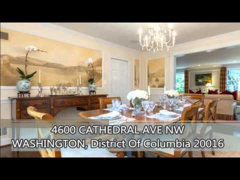 Luxury Homes in DC Properties For Sale -  4600 CATHEDRAL AVENUE NW WASHINGTON, DC 20016