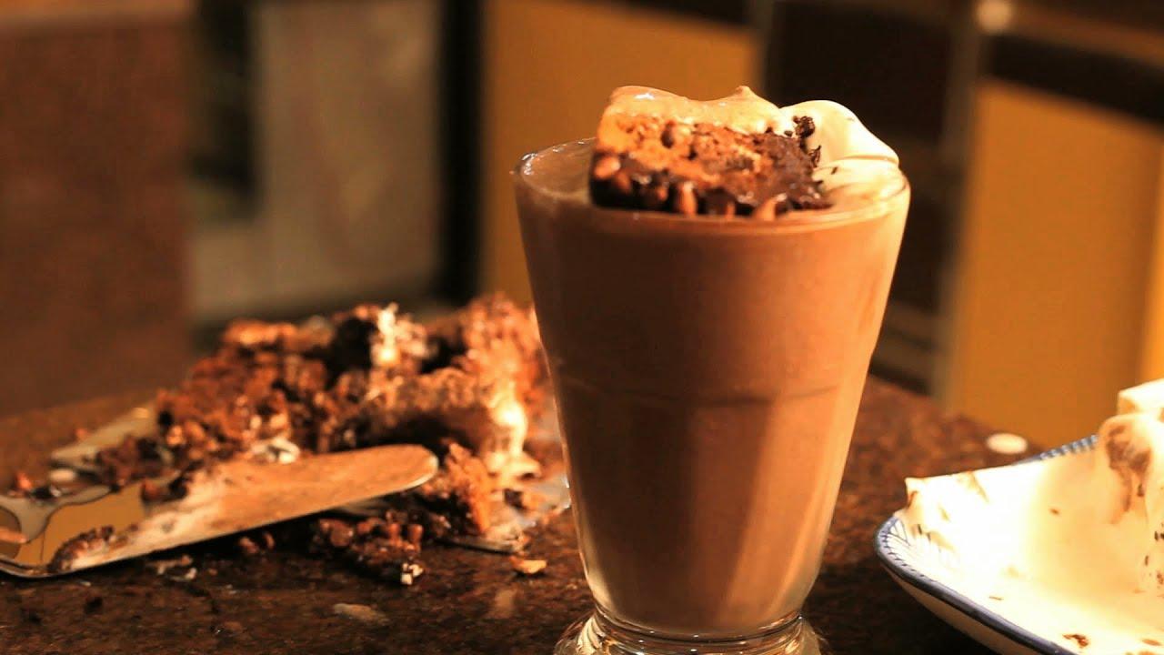 Quick Chocolate Milkshake Youtube