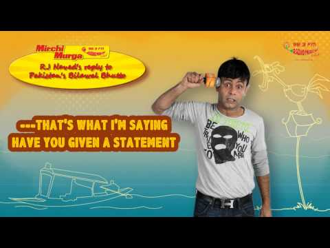 RJ Naved's message for Bilawal Bhutto's comment on Kashmir is too epic!