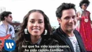 Alejandro Sanz - Making of video Looking for paradise