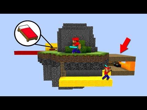 СЕКРЕТНЫЙ ДОМ ЗА БАЗОЙ НА БЕД ВАРСЕ! - (Minecraft Bed Wars)