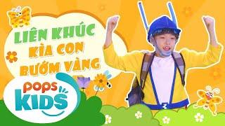 Mầm Chồi Lá - Liên Khúc Kìa Con Bướm Vàng | Nhạc thiếu nhi hay cho bé | Kids Songs