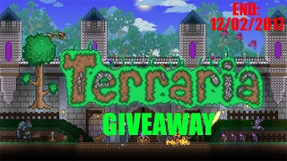 Terraria GIVEAWAY! (Steam CD key)