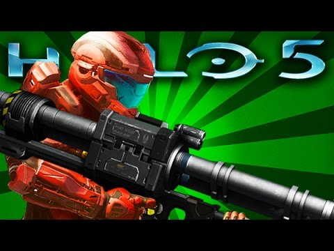 Halo 5: Guardians - Old Rocket Launcher Returns ( Halo 5 Multiplayer Changes)