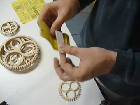 wood clock making