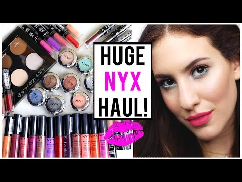 HUGE NYX HAUL Ft. NEW Spring 2015 Collection ♡ JamiePaigeBeauty