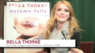 BELLA THORNE and her brand new book AUTUMN FALLS