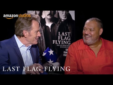 Last Flag Flying - Road Trip Tips With Bryan Cranston And Laurence Fishburne | Amazon Studios