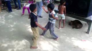 kamapur village child dance