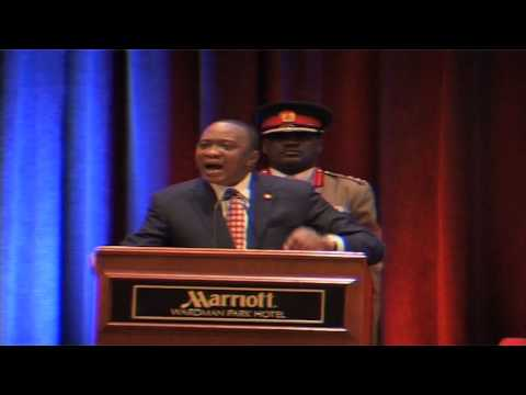 President Uhuru Kenyatta Addresses Diaspora Kenyans in D.C (FULL VERSION)