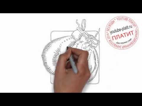 Видео как нарисовать перчатки