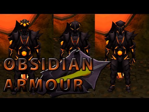 Runescape - New Obsidian Armour - Tzhaar Grandmaster Quest Reward