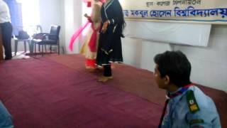 Reshmi Churi Dance by Alhaz Mockbul Hossain University College Rover Scout Group