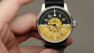 Fortis Flieger Cockpit Yellow Men