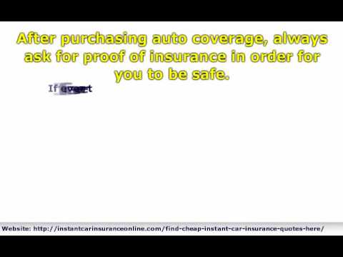 How to Obtain Your Proof of Auto Insurance