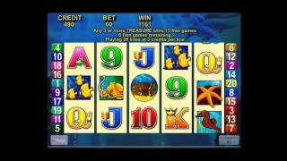 Dolphin Treasure Slot Machine Bonus
