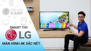 Smart Tivi LG 4K 43 inch - Màn hình 4K cực nét! Âm thanh cực đỉnh! (43UK6340PTF) | Điện Máy XANH